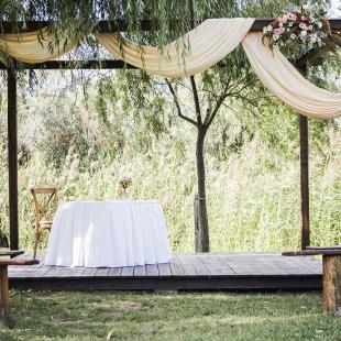 Martina és Balázs mediterrán hangulatú esküvője