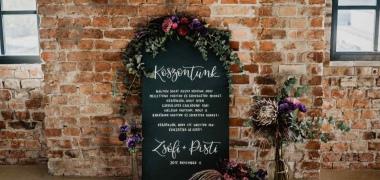 Zsófi&Pisti novemberi esküvője