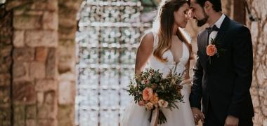 Portugál azulejo mintás tematikus esküvő